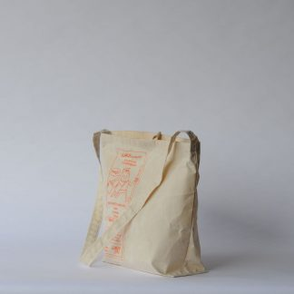 PRINTED LIGHT WEIGHT CANVAS SHOULDER BAG
